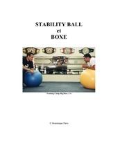 stabilittyball boxe