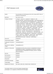 php info modx rpl