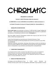 Fichier PDF concours chromatic