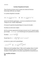 l equation de fourier 1