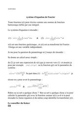 l equation de fourier