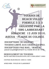 affiche tournoi beach 2016