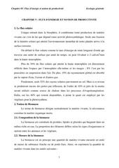 Fichier PDF chapitre v flux d energie et notion de productivite