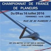 plaquette partenariat championnats de france de planeurs