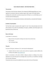 Fichier PDF rules en