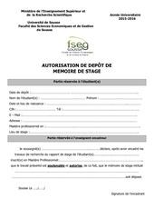 Fichier PDF autorisation de depot mastere 1