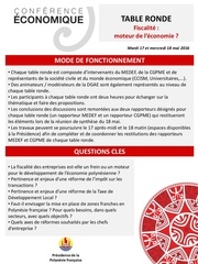 fiches tables rondes