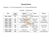 Fichier PDF planning matchs bellecin