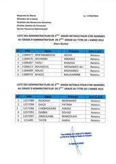 Fichier PDF resultat cap administrateur