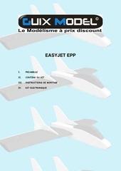 Fichier PDF notice de montage easyjet epp