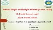 t d de biologie animale licence 1 cbg seance 1 2016