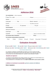 2016 adhesion snes