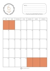 calendrier juin 2016 orange