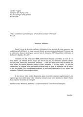 Fichier PDF lettre de motivation asv