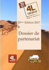 dossier partenariat sponsor