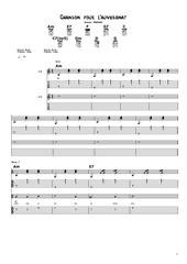 chanson pour l auvergnat partition guitare et voix