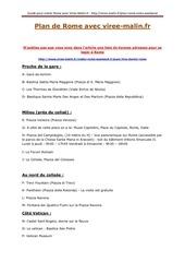 Fichier PDF plan de rome
