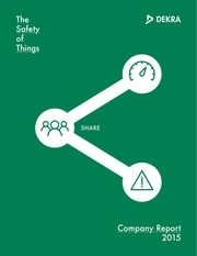dekra annual report 2015 company report en double sided