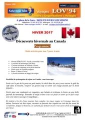 pg i decouverte hivernale au canada