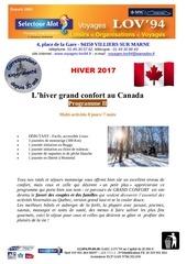 pg ii l hiver grand confort au canada 1