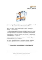 Fichier PDF 101 astuces marketing