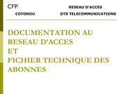 documentation au resau d acces 2