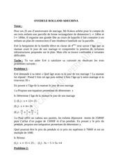 Fichier PDF exercice 4eme