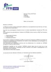 lettre ffb
