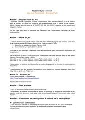 Fichier PDF reglement europapark