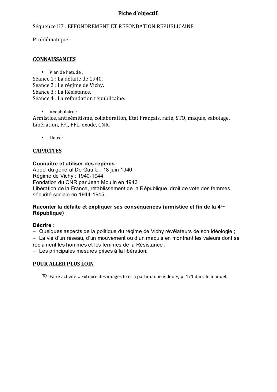 Sequence H7docx Sequence H7 Pdf Fichier Pdf