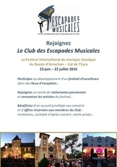 brochure club des escapades musicales 2016