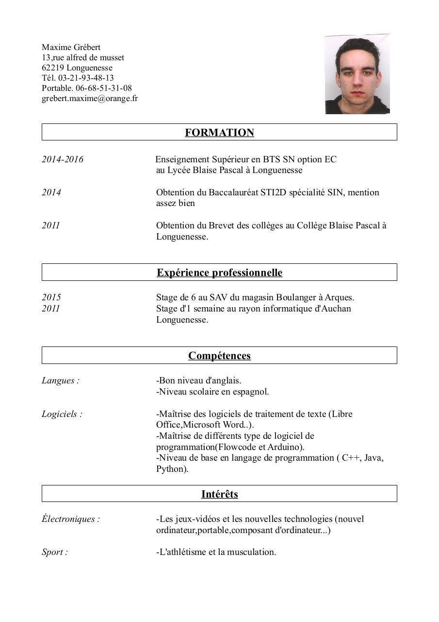 cv calais copie  cv calais - copie pdf