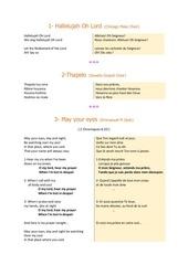 Fichier PDF paroles concert site