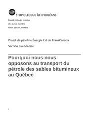 stop oleoduc le d orleans memoire bape avril 2016