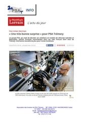 info tremery motorisation electrique 24 05 2016