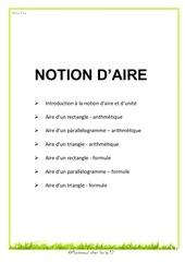 Fichier PDF notion d aire