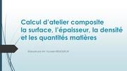 Fichier PDF calcul d atelier composite