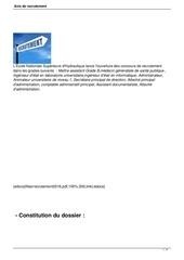 Fichier PDF avis de recrutement