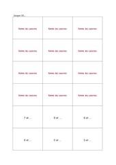 cartes plateau pdf