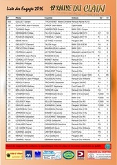 liste des engages clain 2016 a imprimer