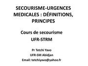 Fichier PDF secourisme urgences medicales