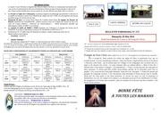 bulletin du 30 au 5 juin 2016