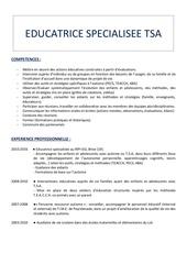 Fichier PDF cv autisme facebook