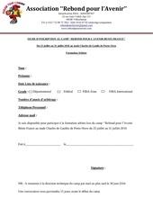 fiche inscription formation arbitre