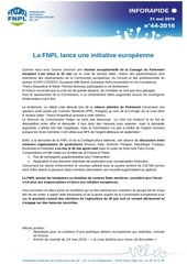 Fichier PDF inforapide n 44 initiative europeenne