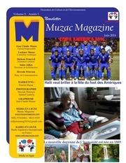 mewsletter muzacmagazine juin 2016