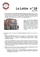 2016 05 lettre n 18