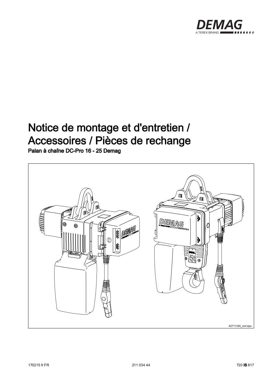 Schema Cablage Palan Electrique