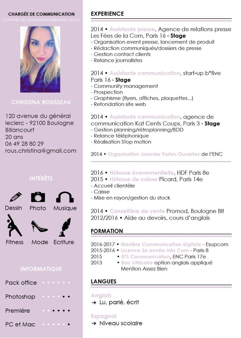 CV ALTERNANCE - Fichier PDF