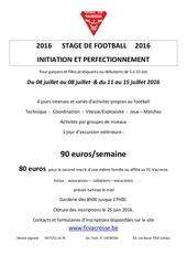 Fichier PDF affiche stage 2016